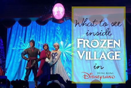 Frozen Village in HK Disneyland