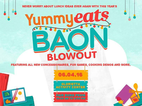 Yummy Eats Baon Blowout 2016