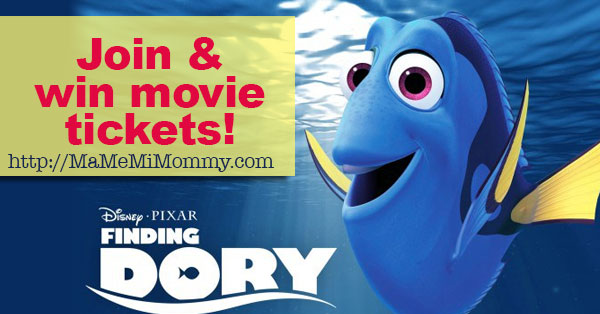 Join and Win Finding Dory Movie Tickets