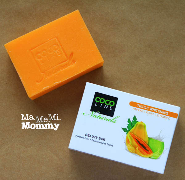 COCOLINE Naturals Triple Whitening Beauty Bar
