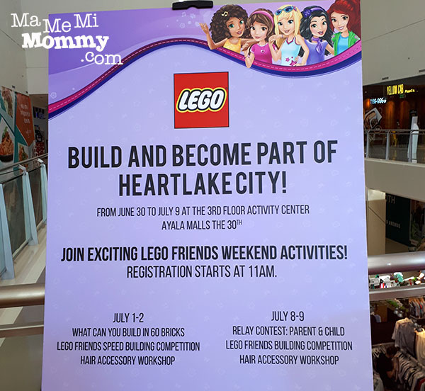 LEGO Friends Heartlake City Building Activity
