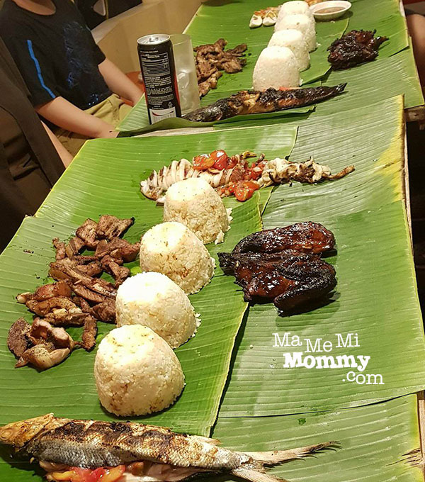 Boodle Fighting at Gerry's Jeepney