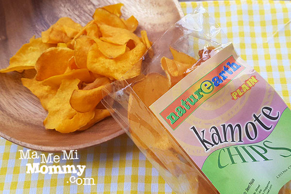 Kamote Chips from Nature Earth