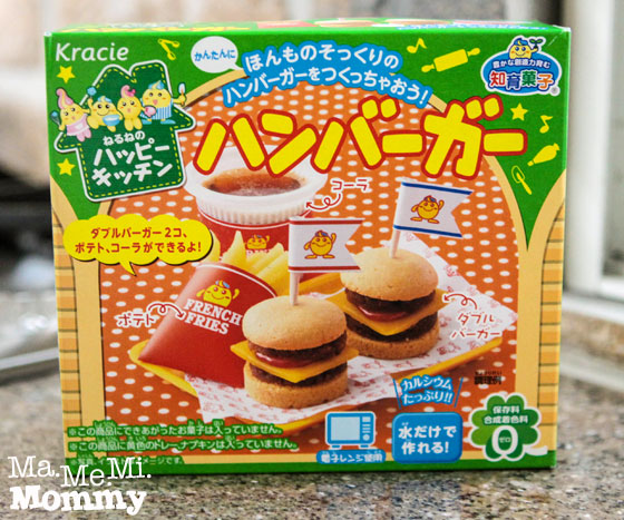 Kracie Happy Kitchen Hamburger Kit